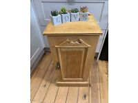 Shabby chic solid pine pot cupboard