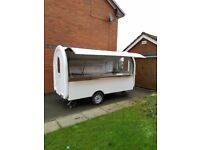 Catering Trailer Burger Van 3400x1650x2300 Ready For Collection