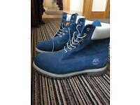 Men's Timberland Boots Blue Size 9.5