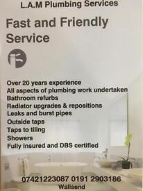 L.A.M Plumbing services