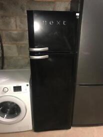Fridge freezer in black