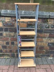 Cd/DVD rack storage very good condition. Solid build