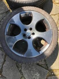 "Monza 18"" wheels 5x100 for VW MK4/MK5"