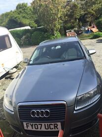 GREY AUDI A6 ESTATE CAR FOR SALE