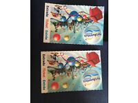 Port Aventura tickets x 2 adults, 3 days, theme park and water park