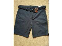 River island mens shorts