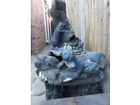 "Large 5 piece otter water feature ""REDUCED"""