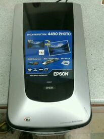 EPSON PERFECTION 4490 PHOTO SCANNER AND PHOTO PRINTER