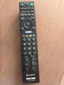 Sony tv remote