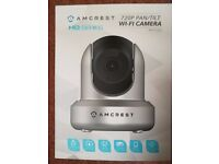 Amcrest HD 720P WiFi Wireless IP Security Camera 720P, 2 Way Audio, 85° Viewing Angle, Night Vision