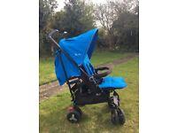 Silver Cross Reflex Stroller - Sky Blue