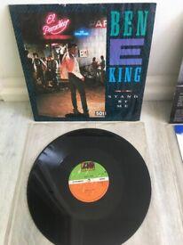 """Ben E King 12"""" single -original Vinyl"""