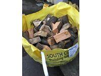 Seasoned hard wood logs ideal for wood burners