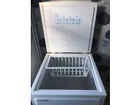 White norfrost freezer
