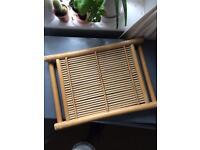 Bamboo mat tray
