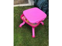 Pink water/sand table