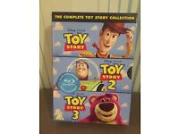 Complete toy story collection DVDs 1-3