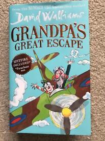 Grandpa's Great Escape hardback not read