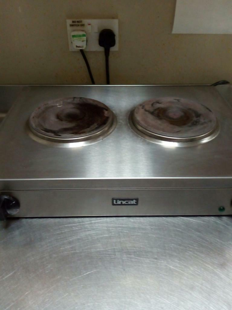 Lincat 2 Ring Electric Hotplate / Hob (cafe/chippy/Coffee)