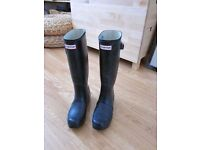 Women's Original Tall Wellington Boots wellies W23499 Size 5