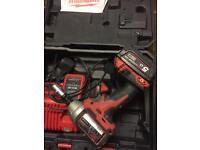 Milwaukee 18v impact wrange brushless 5ah battery