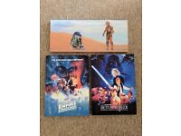 Star Wars Canvas Wall Prints x3. All Included In Price!