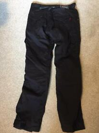 RedRoute textile motorcycle trousers