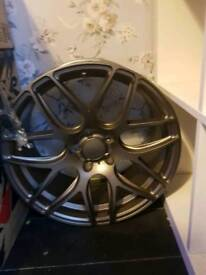 Bola b8r wheels 18inch fit audi vw skoda