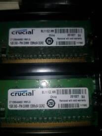 Desktop DDR2 memory