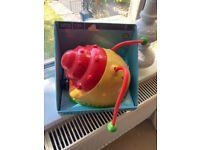 Snail water spray toy