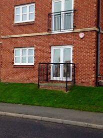 East Shore Village, 1 bedroom ground floor flat, sea facing, outside balcony