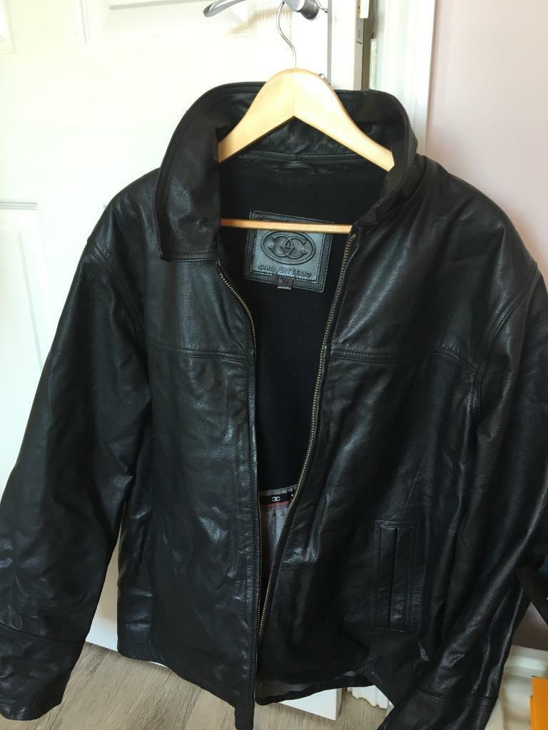 Premium quality Black Leather Jacket. Bargainin Uttoxeter, StaffordshireGumtree - This is an XL black leather jacket of very good quality. Hardly worn and is unmarked with no cracks or wear creases. £150 when new will sell for £25. Bargain !