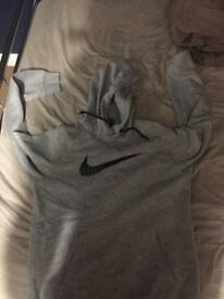 Men's Size Small- Grey Nike hoodie great condition