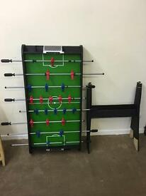 Football table with stand