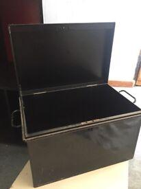 Black Document Box