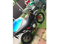 enduro/ 'motorbike rieju tango 125cc