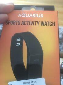 Aquarius sports activity watch brand new