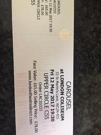 Carousel Concert Tickets