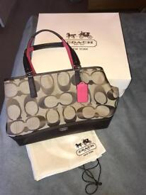 Never used Coaches Handbag with tags