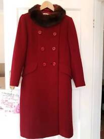 Great coat size 12