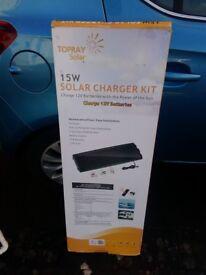 12volt 15watt solar panel