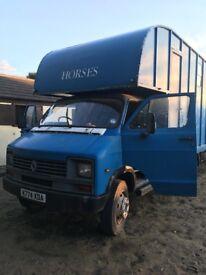 Peper Harow Coach Built Horse Box (5600kg Gross weight)