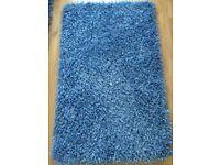 Gooch Oriental Razzle Dazzle Blue Rug 150 x 90cm / 5 x 3'