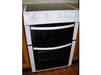 Electric Slot In Cooker Logik 60cm With Ceramic Hob and Fan Oven Immaculate Condition
