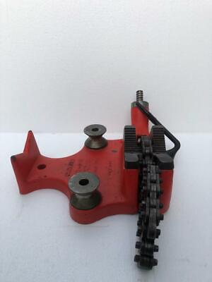 Ridgid Bc-810 Top Screw Bench Chain Vise 12-8 Pipe Size 1