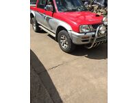 Mitsubishi L200 2 trucks breaking all parts available
