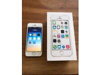 IPhone 5S 16GB Gold Used but in excellent condition