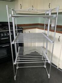 Lakeland Dry Soon Heated Clothes Airer & Cover