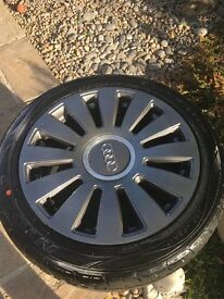 "Audi TT 17""Alloy wheels at tyres refurbished"