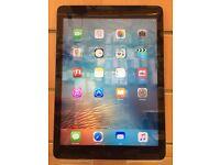 iPad Air Black Wi-Fi + Cellular 16gb
